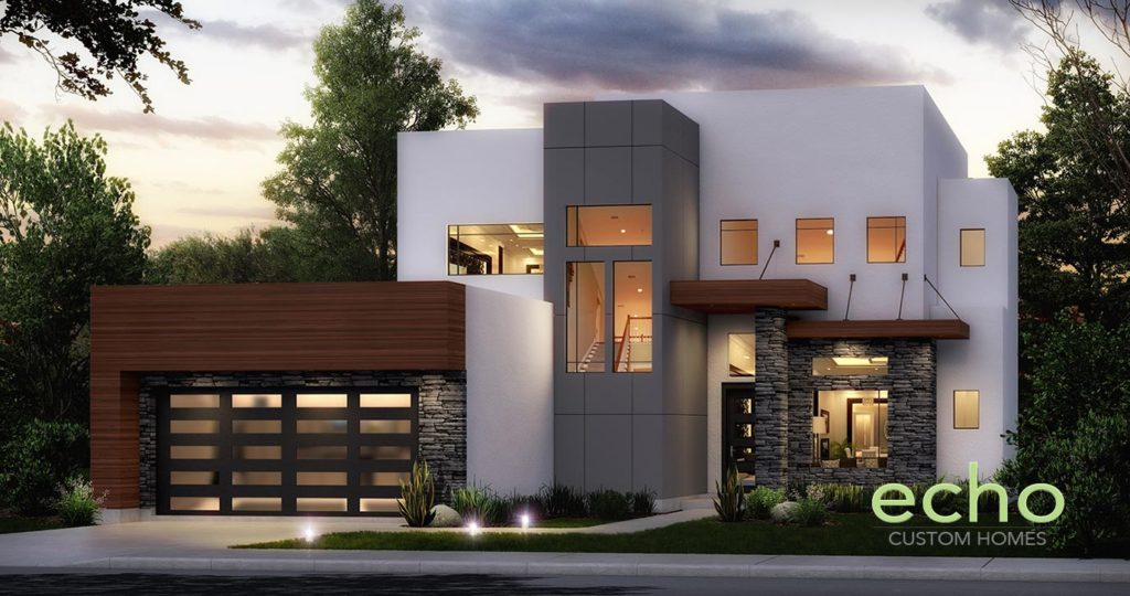 Contemporary and modern home in houston texas oak forest for Modern custom homes